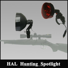 175mm 100W Halogen Hunting Light torches for shotgun rifle mounted spotlight