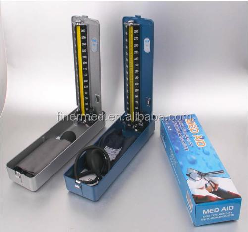top quality cast  aluminum desk type mercury sphygmomanometer.JPG