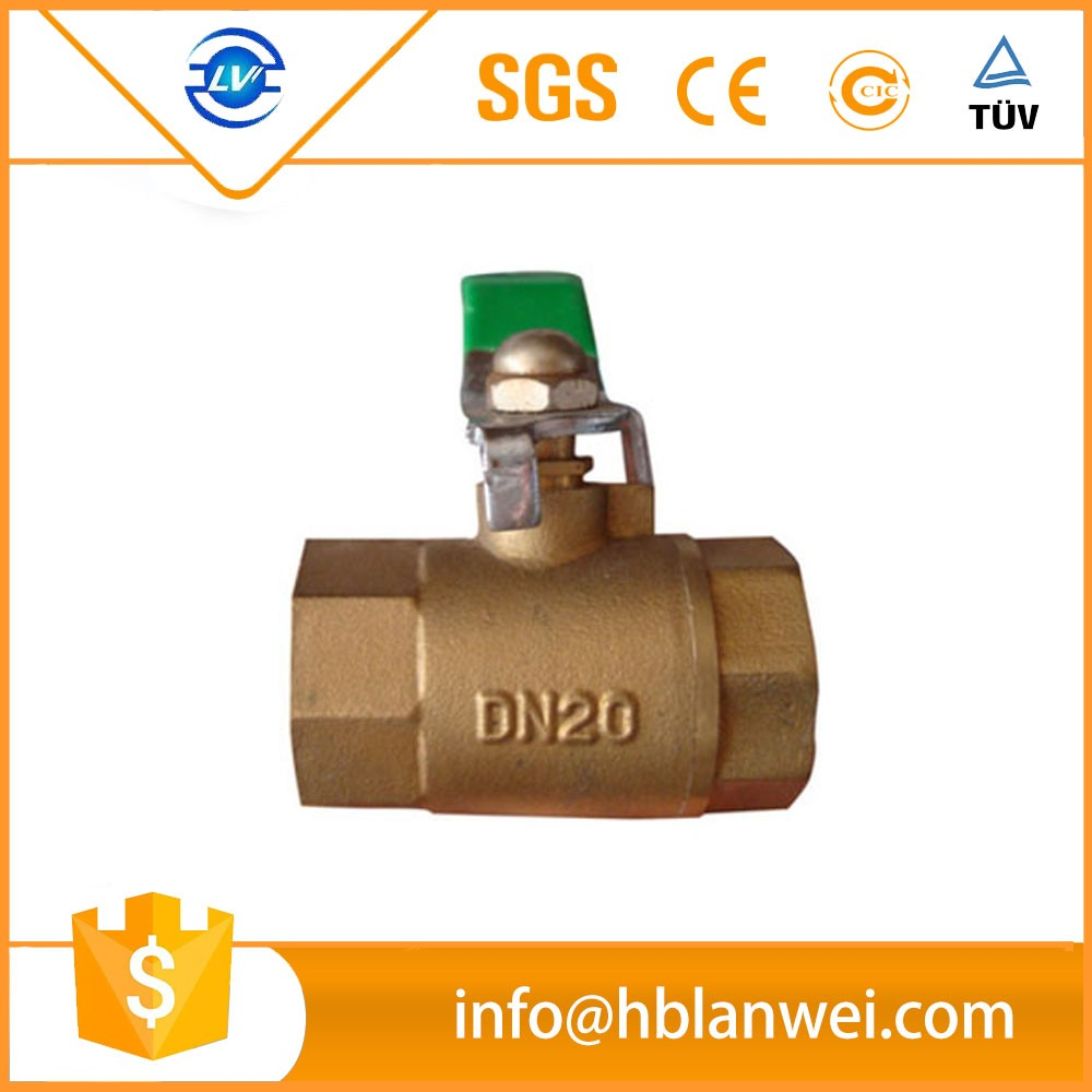 alibaba hot sale ball stop cock valves with BSP for water