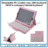 LBK139 2013 New trendy shockproof case for ipad /for ipad case with keyboard