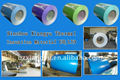 high quality/low price Color coated galvanized aluminium coil