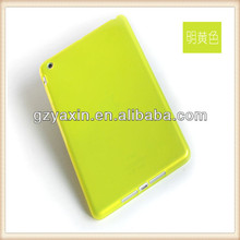 New arrival!! Wholesale pure color TPU case for iPad Mini,for Ipad Mini soft tpu case