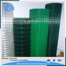 Factory supply galvanized welded wire mesh weight for fence