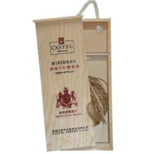 Cheap Wooden Wine Box Wood Fruit Crates/Packaging Box