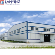 China Light Steel Structure/Economic Prefabricated factory plant Price