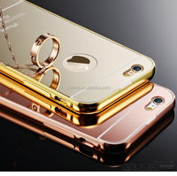 2016 Wholesale 5.5 inch 24k gold plated Case For iphone 6 plus cover original unlock phone