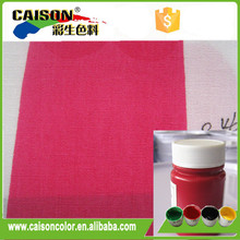 Red Pigment colorant for printing