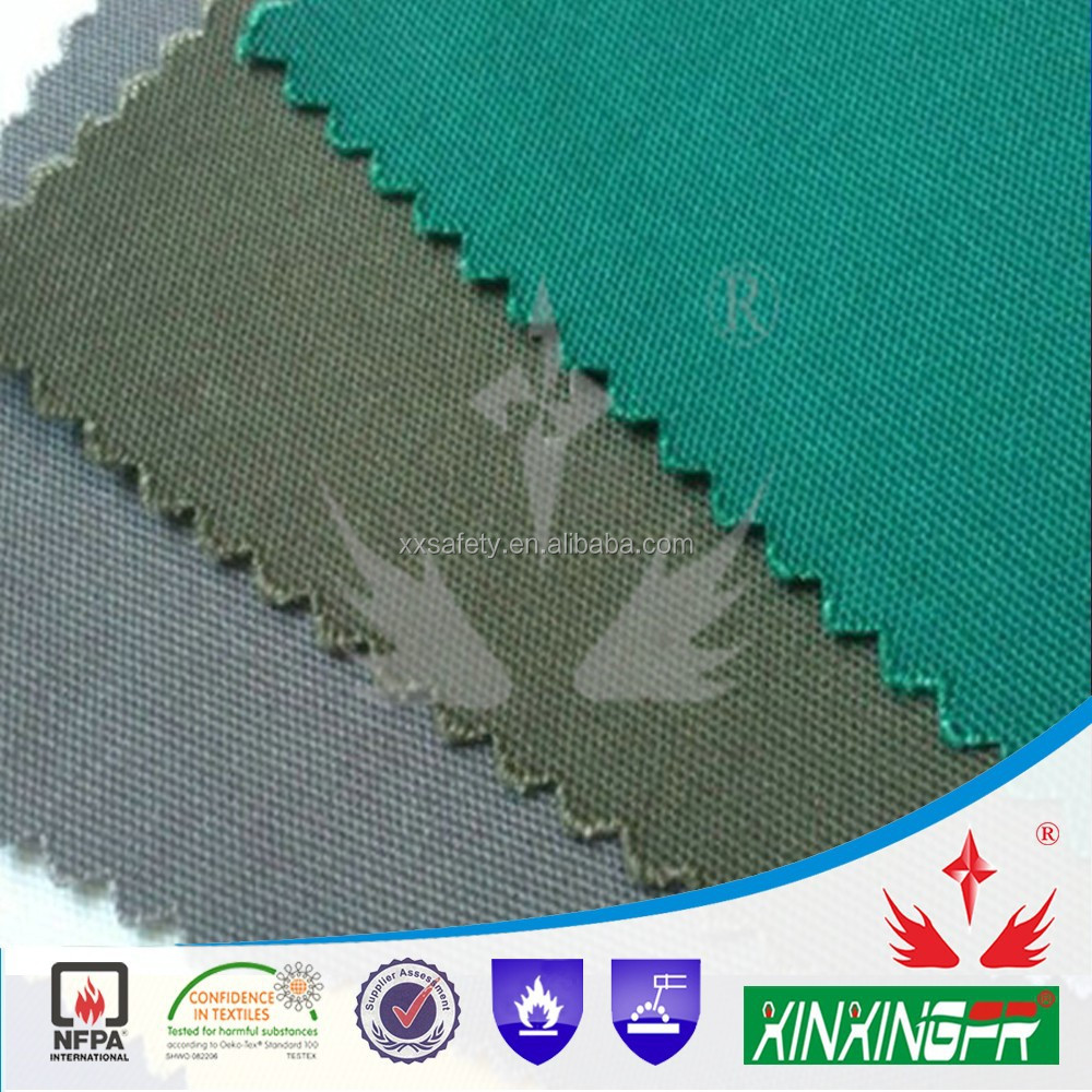 anti-static fire fighting workwear fabric for protective clothing
