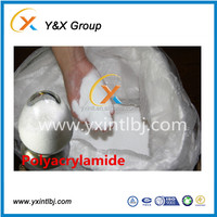 Factory latest technology produce polymer chemicals high molecular weight polyacrylamide YXFLOC