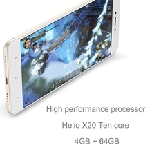 "dropshipping stock 4g 5g mobile phone 4100mAh 5.5"" MTK Helio X20 Deca Core Xiaomi Redmi Note 4 X 4GB+64GB with google play store"