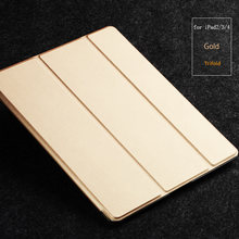 For Apple iPad 2 3 4 Folded Stand Flip Full Protective Leather Case