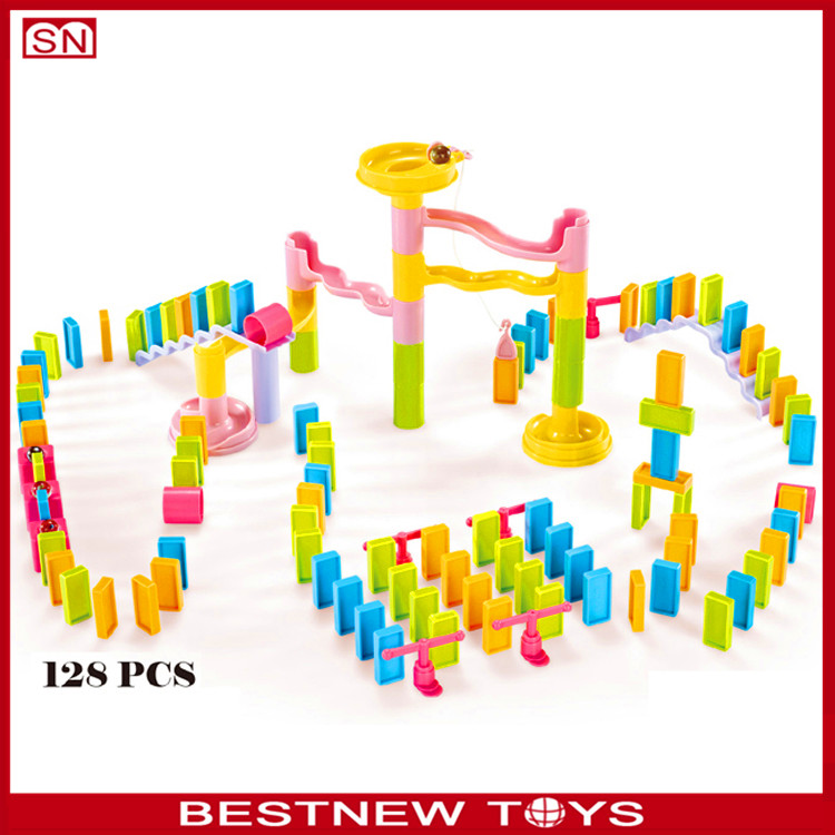 Wholesale cute design learn pretend clear domino