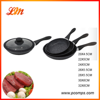 Supreme Quality durable promotion Aluminum non stick frying pan