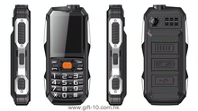 "Cheap 2.4"" MTK6261 Rugged Mobile Phone with Power Bank"