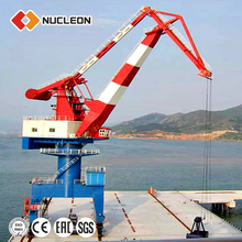 Marine Jib Crane For Port, Pedestal Crane With Derricking Jibs