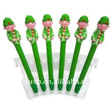 ball-point pen primary children stationery students prize gift souvenirs fimo boy gift pen /Promotion / wholesale