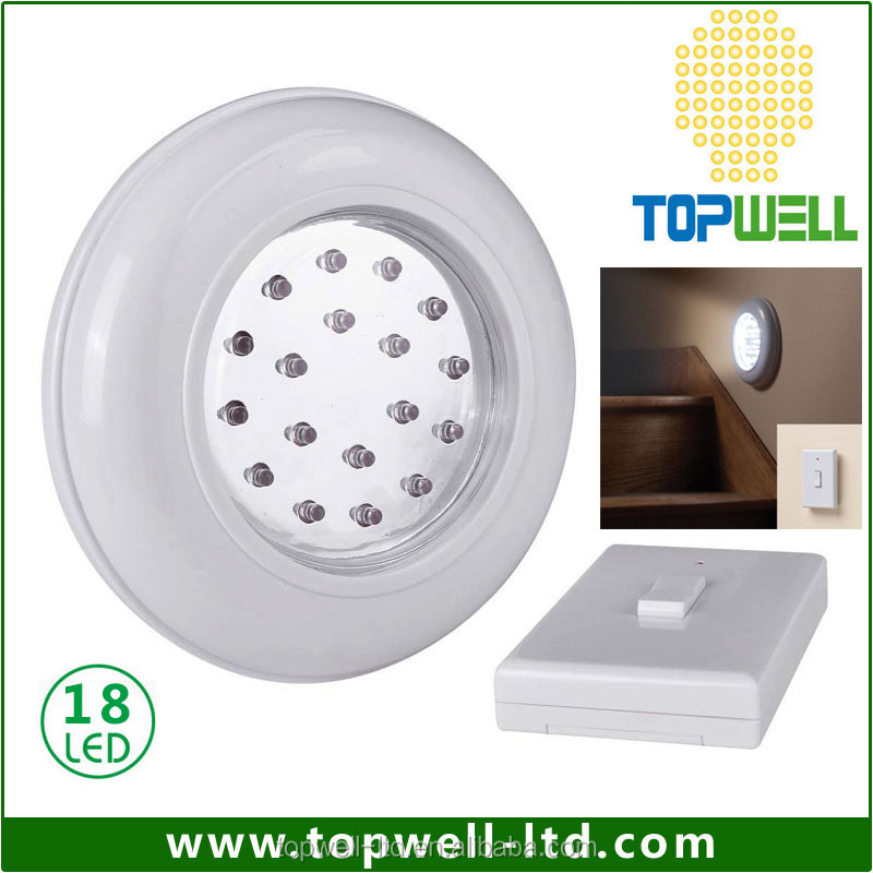 Cordless Wireless Ceiling Wall LED Light With Remote Control stage lighting controller