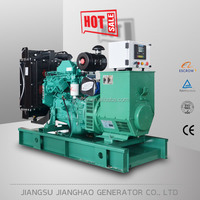 Hot sale soundproof generator powered by cummins engine silent 50kva 40kw diesel generator set