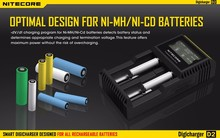 2016 geninue Nitecore D2 charger IMR/Lifepo4/NiMh/NiCd AA AAA battery charger Wholesale