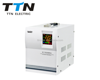 PC-TDS 2000VA low voltage air conditioner ac automatic voltage regulator / stabilizer