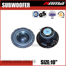 "10"" inch factory price dual 4 Ohms car speakers subwoofer"