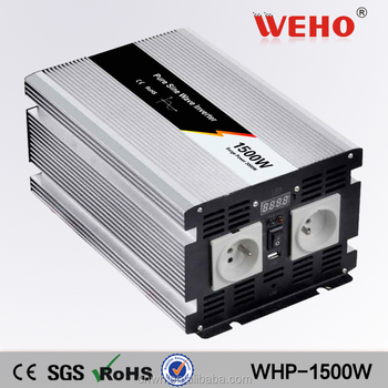 Competitive quotation off grid 12v 220v 1500w pure sine wave inverter