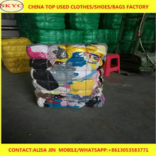 bright color mixed summer used clothing suppliers in Dongguan export cheap high quality used clothes for Africa buyers