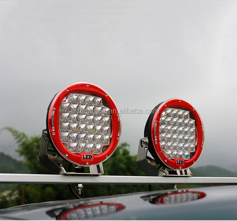 2015 new 96W round led work light high lumens offroad headlight