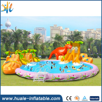 2017 best price giant outdoor inflatable backyard water park for fun