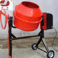 JS160L small portable hand operate mini electric concrete mixer for sale