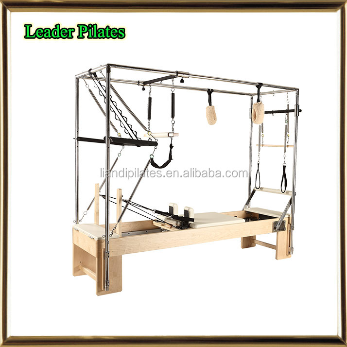 Pilates cadillac/Wood cadillac reformer/Wood reformer with full trapeze