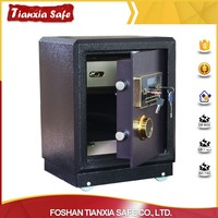 New fashion electronic strong built fire proof key safes for office