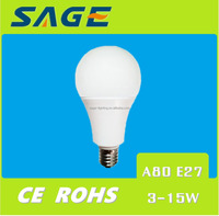 A80 A60 7W e14 e27 LED Light Bulb LED Lamp