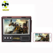 2017 DIY mini 3D video mobile phone tv screen magnifier for almost all of the mobile phone