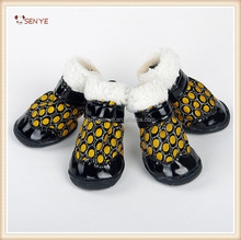 Dog Winter Snow Warm Walking Sports Boots Waterproof Pet Shoes Anti Skid Dog Winter Shoes