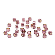 Wholesale 11/0 Round Silver-Lined Purple Japanese Glass Seed Beads