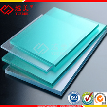polycarbonate solid sheet with uv blocked polycarbonato flat sheet