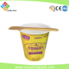 high quality and heat sealing plastic cup for yogurt/ice cream/ smoothie