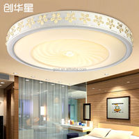 Energy saving Morden led ceiling lights 24W-64W ceiling light Round dimmable led ceiling light with remote controller