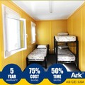 Ark Top Quality Good Price Long Lifespan Flatpack Prefabricated Steel Break Rooms
