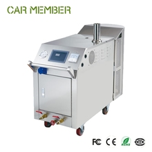 CAR MEMBER hot sale 20 bar 2 steam jets pressure mobile LPG steam car wash machine with CE