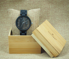 China Manufacturer Hot Charming Cool Wooden Wrist Watch with high quality