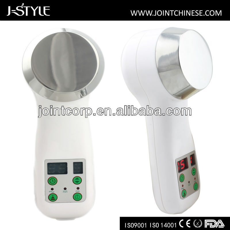J-style large LCD display beauty device r f sliming machine