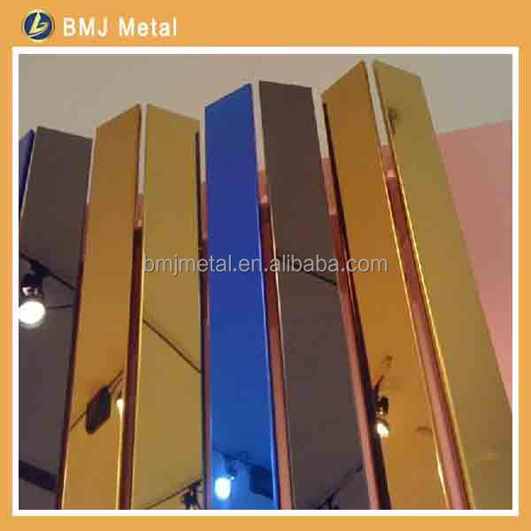 Decorative Stainless Steel Wall Plate for Hotel