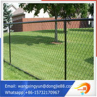 wholesale chian link fence/pvc coated chain link wire mesh