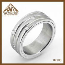 stainless steel vogue jewelry ring OR100