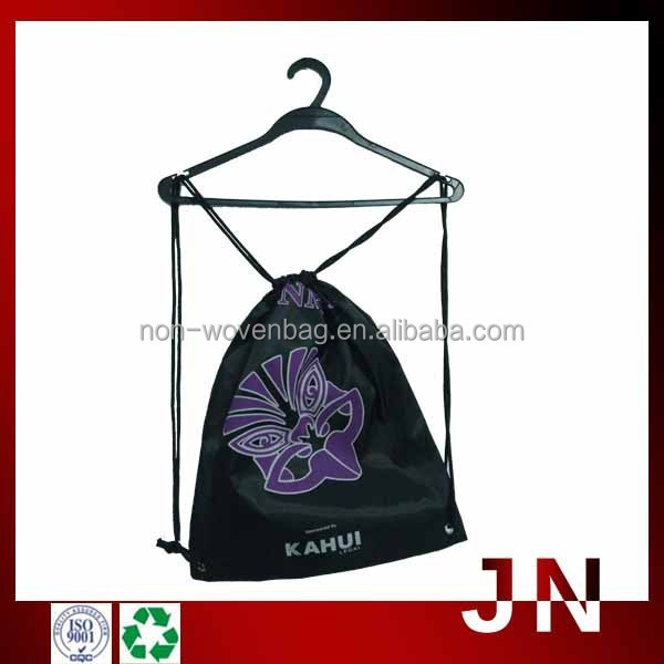 Drawstring Backpack Bag with Customized Trade Mark