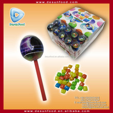 planet lollipop packing mini chewing gum