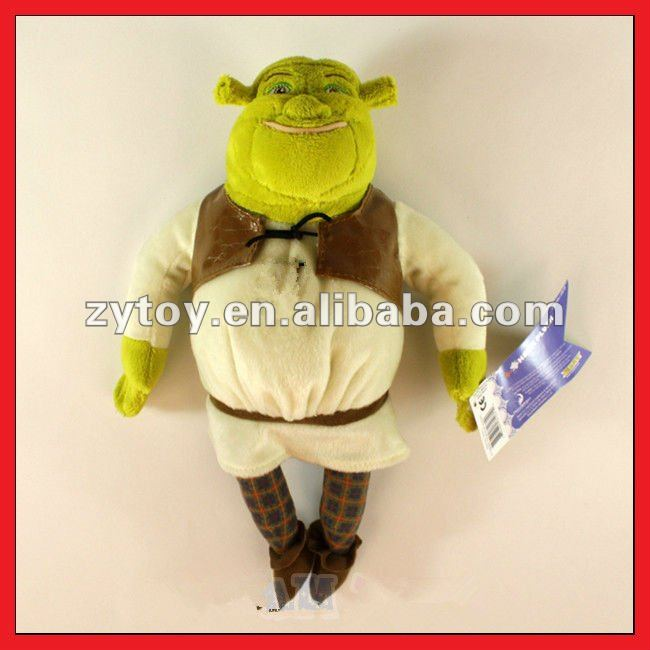 HOT selling plush shrek toys