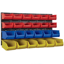 Quality Stackable plastic Storage Bins Utility Stacking Bin for warehouse parts storage